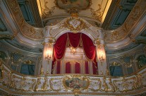 Happy Christmas Everyone from the theatre of the Yusupov Palace, St Petersburg