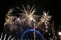 Happy New Year 2015 from London – the light is coming…