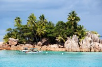 Paradise island hopping in the Seychelles…